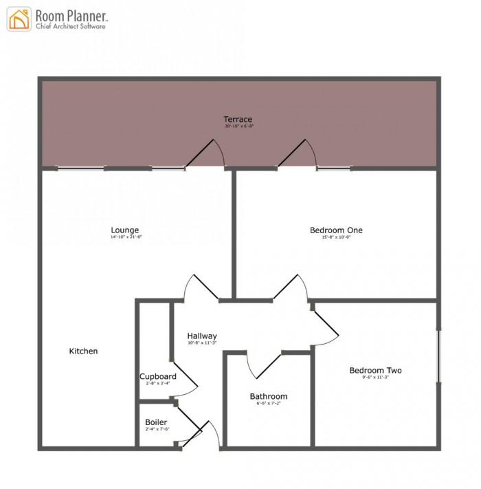 Floorplans For Emma House, Market Link, Romford